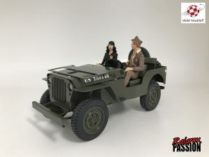 Jeep Willis Pin-up et G.I par Berthet