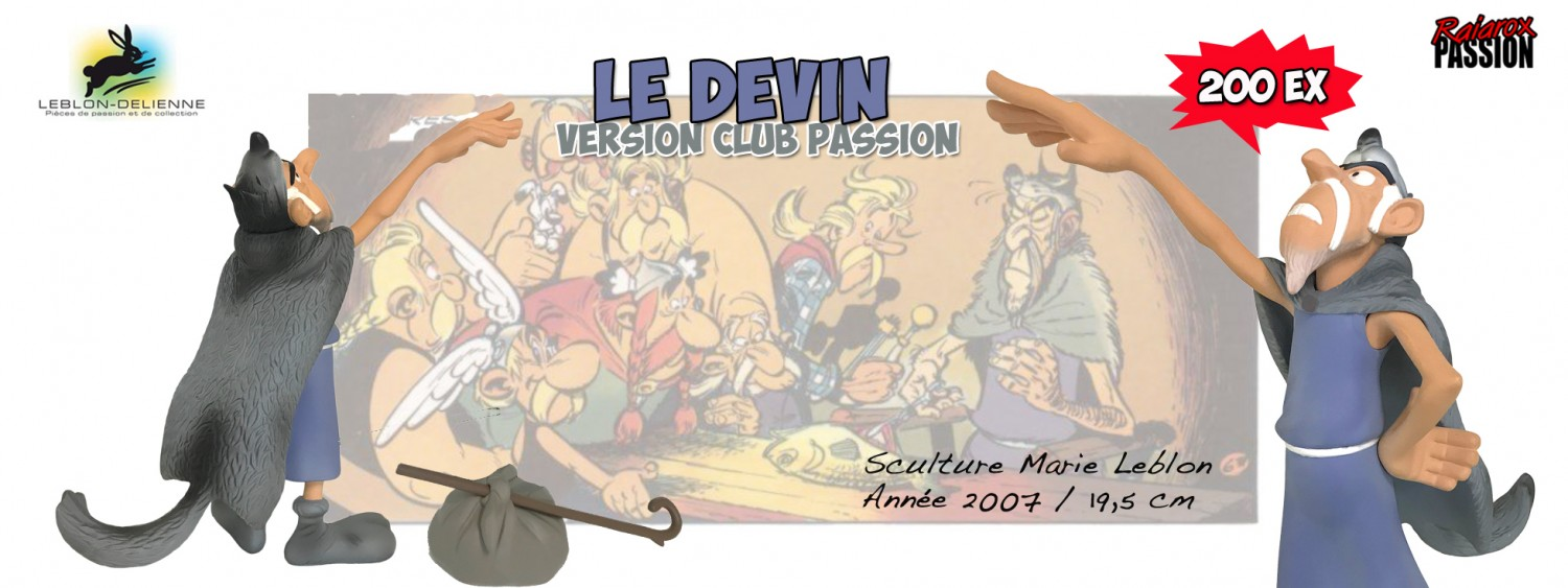 Le devin - Version club Passion - Leblon Delienne