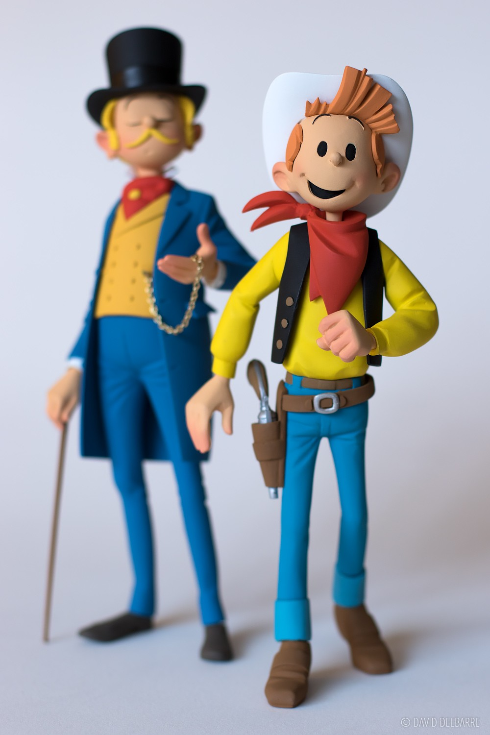 Spirou et Fantasio Far-West - Hommage à Lucky Luke - Exclusivité Raiarox