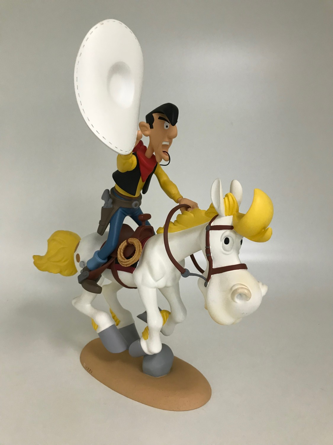 Lucky Luke au galop