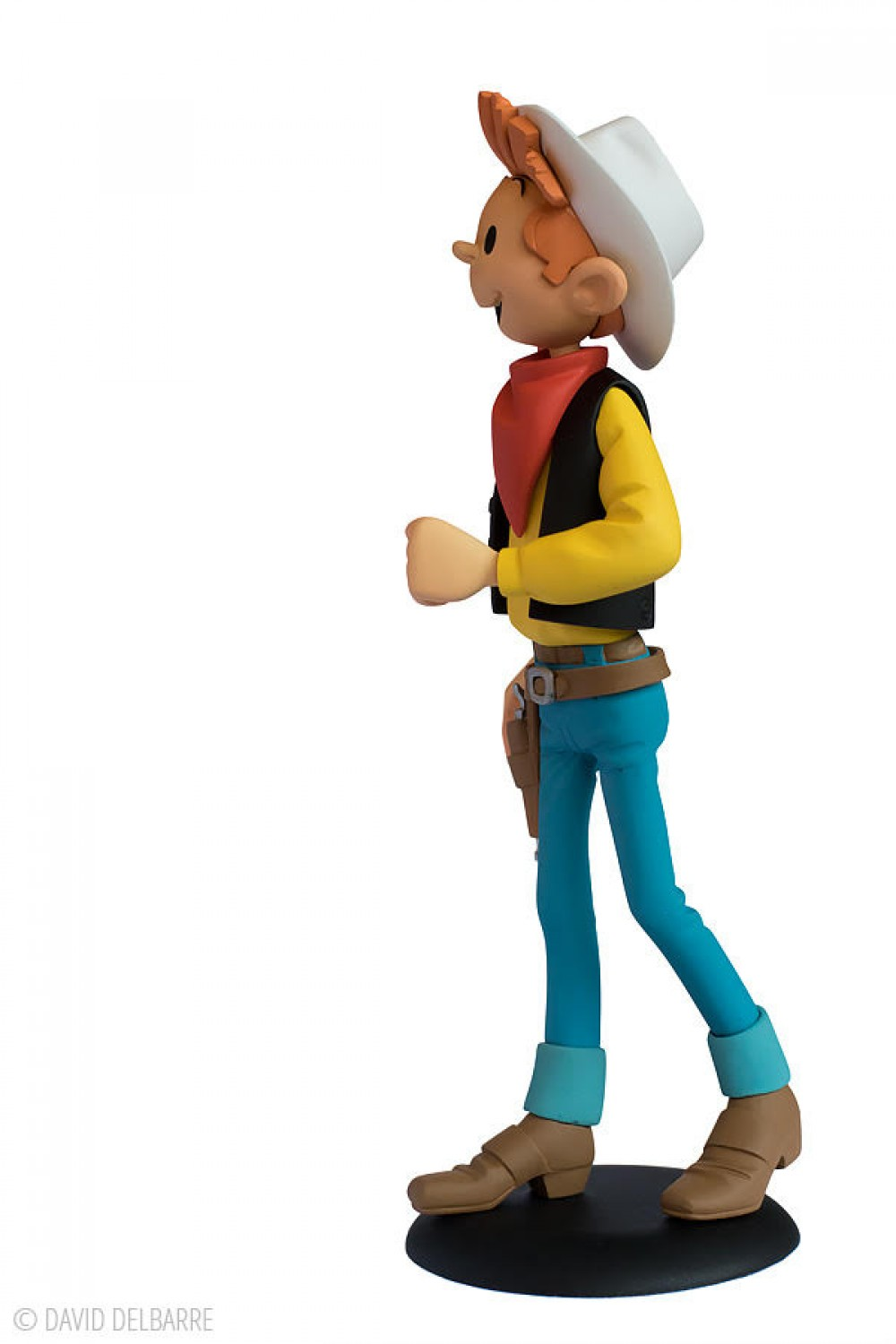 Spirou Far-West - Hommage à Lucky Luke - Exclusivité Raiarox